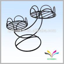 Proveedor de China alta calidad al por mayor antigüedades decorativas de metal de jardín jardín de esquina pote de pie para la boda