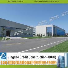 Modern Design Galvanized Light Steel Structure Workshop Building