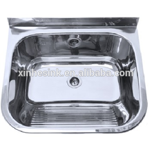 Above counter 304 stainless steel small size sink with bracket