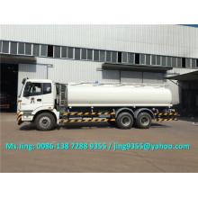 Bonne qualité de la capacité du pétrolier Foton 6x4 20-25 m3 vente de camions-citernes en Ouzbékistan