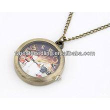 2013 Reloj de bolsillo de diseño de diseño navideño de Navidad 11032562