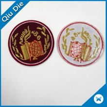 Round Large Embroidered Patch for Clothing
