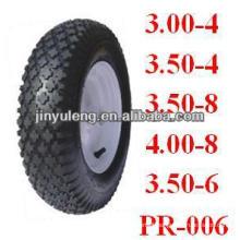 "pneumatic rubber wheelbarrow l tyre 10""x3.00-4"