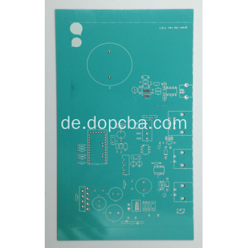 2Layer Teal Color Leiterplatten-Prototypservice