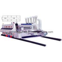 Hochgeschwindigkeits-Karton-Druck- und Schlitzmaschine