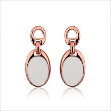 VAGULA Rose Gold Plated Fashion Acryl Stud Earring