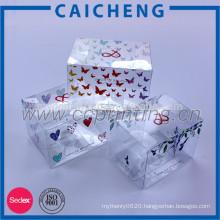 Custom good quality plastic food packaging box