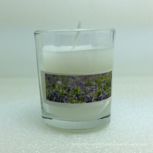Manufacture Various Model Double Layer Elegant Design Glass Cup Candle