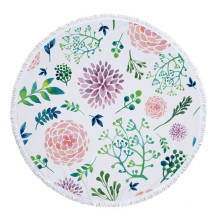 150cm Flower Heavy Hibiscus Round Circle Beach Towels