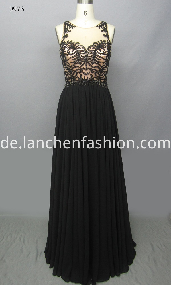 Stylish Long Evening Dress