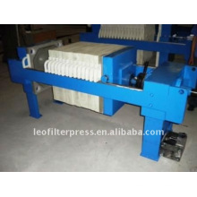 Leo Filter Pres 630 Manuelle Bedienung Filterpresse Maschine