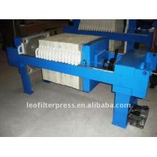Leo Filter Pres 630 Manual Operation Filter Press Machine