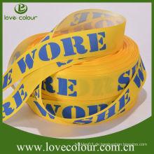 Hochwertiges Polyester-Grosgrainband / Druckerband