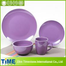 Plum Moon Shape Keramik-Dinner-Set (15032104)
