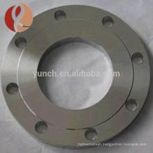 Best price bright surface titanium plate flange