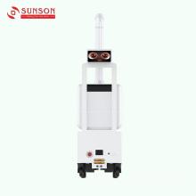 Robot de pulverización asesino de bacterias