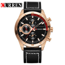 Chronograph Curren quartz watchs made in prc