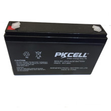 PK-670 6v 7ah lead acid battery SLA and AGM battery maintenance free