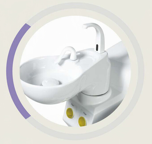 Dental Chair Hygiene ceramic spittoon