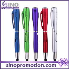 Plastik LED-Licht-Feder mit Fackel-fördernder Geschenk-Feder (S1120)