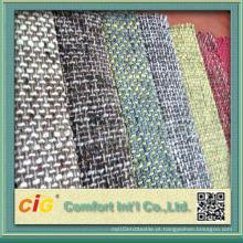 Tecido de sofá estofado Mercado da América do Norte