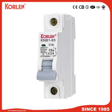 Miniature Circuit Breaker 4.5KA 63A 3P με SIRIM