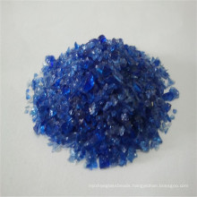 Blue Crushed Tempered Glass F