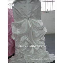 Luxus !!! weiße Farbe Satin Stuhlabdeckung, so faszinierend, Hochzeit Stil