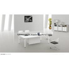 Petite table de réunion moderne en blanc (FOH-2412B)