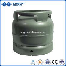 Cylindres de gaz LPG de capacité élevée de la sécurité 6KG 12.9L avec la valve