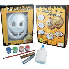 Halloween White Kürbis Masken Großhandel / Kids Cartoon Masken