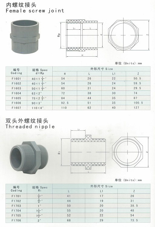 PVC Female Adaptor