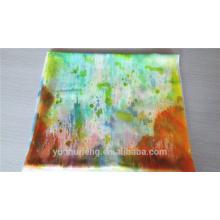 O último lenço de caxemira de pintura macia de design suave à venda