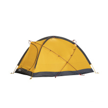 4 Season 2-Sides Silicone Outdoor Camping Waterproof Double Layer Luxury Tent