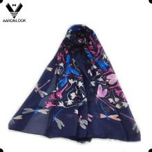 2016 Nueva bufanda de seda del resorte del verano de la libélula del diseño de la manera