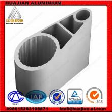 Perfis industriais de extrusão de alumínio