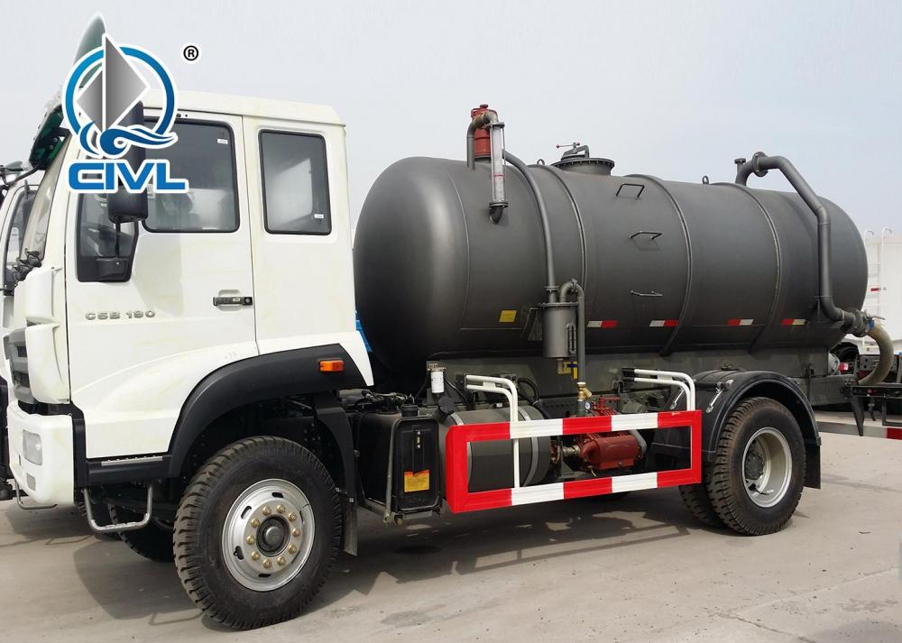 Sewage Suction Truck 13