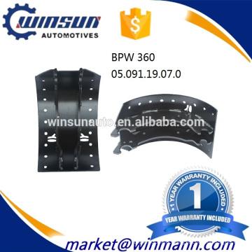 BPW 360 Brake Shoe 05.091.19.07.0