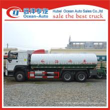 SINOTRUK HOWO 6X4 20000L manual gearbox drinking water truck supplier