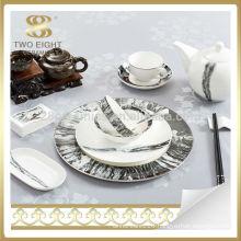 unique new bone China tableware dinnerware set for wedding