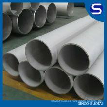 Fabricante de la tubería de agua de acero inoxidable ASTM A312