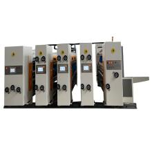 Full Automatic Carton box making machine 4 colors flexo Corrugated Printing Slotting and die cutting creasing machine