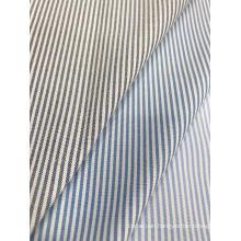 CVC Oxford Woven Stripe Fabric