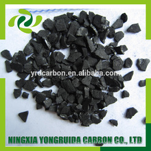 Factory supply 12x40 granular coconut shell activated carbon for gold adsorption