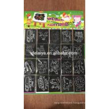7 pcs Scratch art for kids