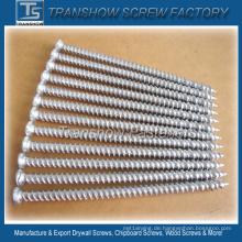 Medium Carbon Steel Hardend 7.5 * 132mm Betonschraube Silber