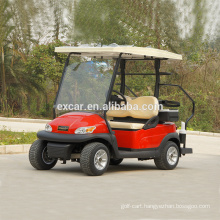 hot sale 48V 2 Seater electric solar golf cart from China Solar Power electrocar