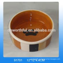 Diseño moderno de cerámica al por mayor de cerámica cuencos, cuencos de cerámica en alta calidad