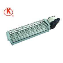 China 60 mm Aplicar a ventilador soplador Ventilador centrífugo de flujo cruzado