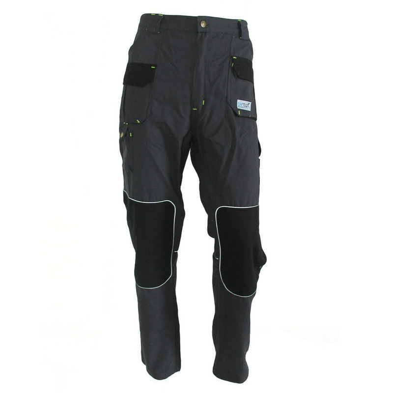 Multi functional pockets work pants T02
